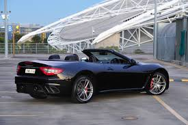 maserati black 2017 maserati grancabrio mc now on sale in australia from 355 000