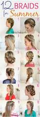 easy back to hairstyles cute quick and easy braids for 12 braids for summer beat the heat and look cute with these