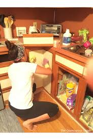 Diy Kitchen Cabinets Makeover Diy Kitchen Cabinet Makeover U2022 The Glamourous Guide