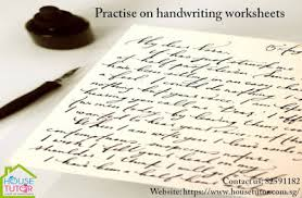 house tutor u2014 tips to improve your handwriting