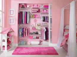Pink Girls Bedroom A Closet That Grows With Your Little Hgtv