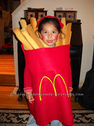 cool halloween costume for a child large order of mcdonald u0027s