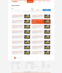 rent a car template free car rental templates phpjabbers