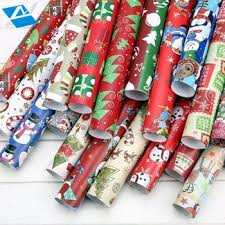 2017 newest gift wrapping paper roll buy jumbo rolls