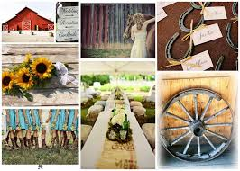 western wedding decorations countryside style for