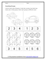 counting worksheets preschool worksheets