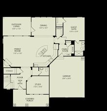 Drees Floor Plans by Reese 142 Drees Homes Interactive Floor Plans Custom Homes