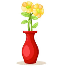 Flowers In Vases Pictures Spring And Summer Colorful Flowers In Vases Vector Image