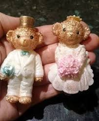 Bathroom Silicone Mould Teddy Wedding Silicone Mould Made And Designed Exclusively By