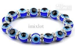 blue eye bracelet images Evil eye lampwork plastic bead turkish nazar greek beaded stretch jpg