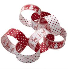 christmas paper chains knitted christmas paper chains homemade