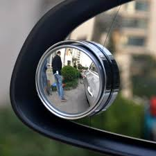 Blind Spot Mirrors For Motorcycles Accessorygeeks Com Universal Car Accessories Silver Blind Spot