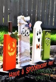 Halloween Home Decor Crafts by Best 25 Halloween Wood Crafts Ideas On Pinterest Fall Wood
