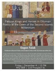 Ottoman Studies by Iran Colloquium Program In Iranian Studies