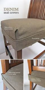 How To Make Seat Cushions For Dining Room Chairs Wonderful Cozy Gingham Seat Cushions Add Such Charm To These