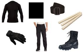 Men Black Halloween Costume Daredevil Black Costume Diy Guides Cosplay U0026 Halloween