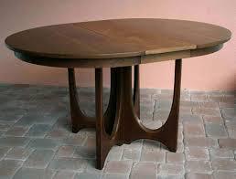 Broyhill Dining Room Broyhill Brasilia Round Dining Table Mid Century Modern