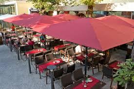 Restaurant Patio Umbrellas Patio Umbrella Caravita Outdoor Living