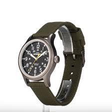 expedition outdoor watch men u0027s nylon strap black dial 24 hr