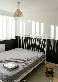 modern vintage small bedroom makeover grillo designs