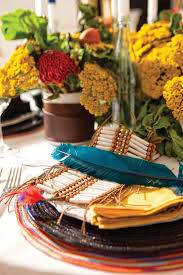 thanksgiving table design inspired by american culture