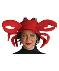 Crab Halloween Costume Crabby Clawster Crab Hat Hats