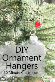 simple diy ornament hanger 30 minute crafts
