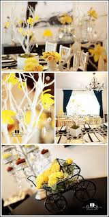 yellow baby shower ideas real party black yellow baby shower