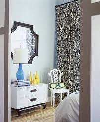In The White Room With Black Curtains Black And White Bedroom Curtains Home Design Ideas