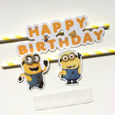 minions cake toppers new despicable me minions cake topper picks baby children