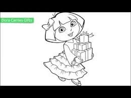 25 free printable dora coloring pages