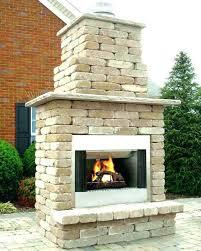 Stone Fireplace Kits Outdoor - outdoor gas fireplace kit u2013 bowbox