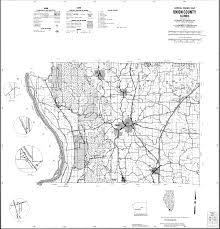 Map Of Illinois Counties Thornton Illinois