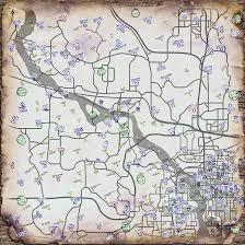 Fallout 3 Bobblehead Locations Map by Fallout 3 Map Size Adriftskateshop