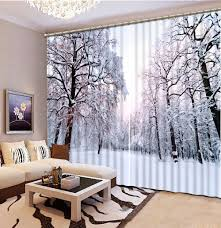 Winter Home Decor Online Get Cheap Beautiful Winter Scenery Aliexpress Com