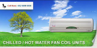 wall mounted fan coil chilled water fan coil units