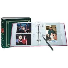 Pioneer 4x6 Photo Albums Pioneer Leather 3 Ring Bi Directional Memo Album 200 Photos
