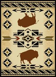 Aztec Design Rugs South West Buffalo Rug For The Home Pinterest Native