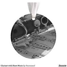 i love my clarinet classic round sticker clarinets