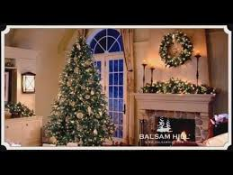true needle foliage christmas tree video from balsam hill youtube