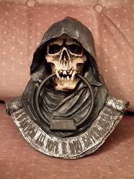 grim reaper door knocker i u0027m planning on hanging it on my office