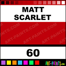 matt scarlet modelling enamel paints 60 matt scarlet paint