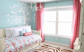 Pink And Teal Curtains Decorating 15 Adorable Pink And Blue Bedroom For Rilane