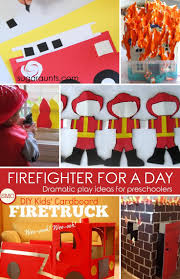 firefighter dramatic play ideas for preschoolers dramatic play