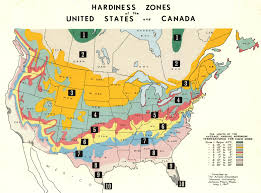 Weather Zones For Gardening - map of us agricultural zones
