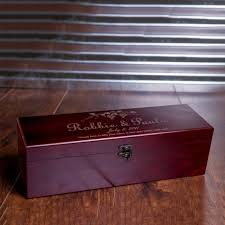 Wedding Gifts Engraved Personalized Wine Box Engraved Wedding Gifts Box Anniversary
