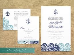 nautical wedding invitations wedding invitations seaside theme uc918 info