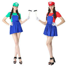 Video Game Halloween Costumes 2017 Video Game Cosplay Super Mario Bros Cosplay Costume Mario
