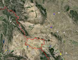 Wyoming Road Map Epic Road Trip Wyoming U2013 Marginalia