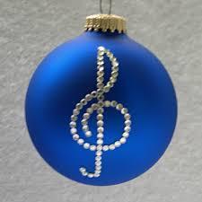 treble clef ornament tree ornaments depicting a treble